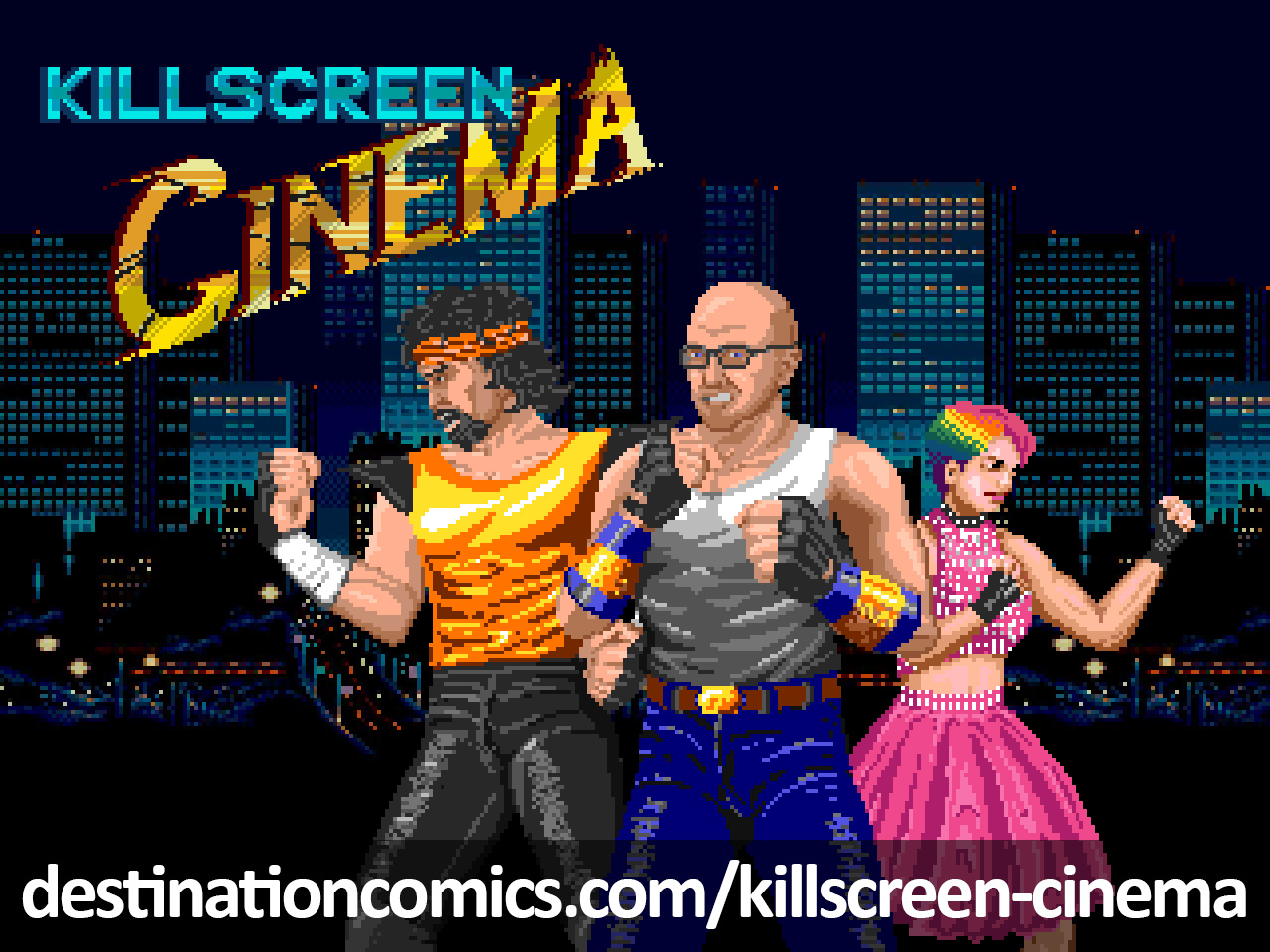 Killscreen Cinema Logo Commission