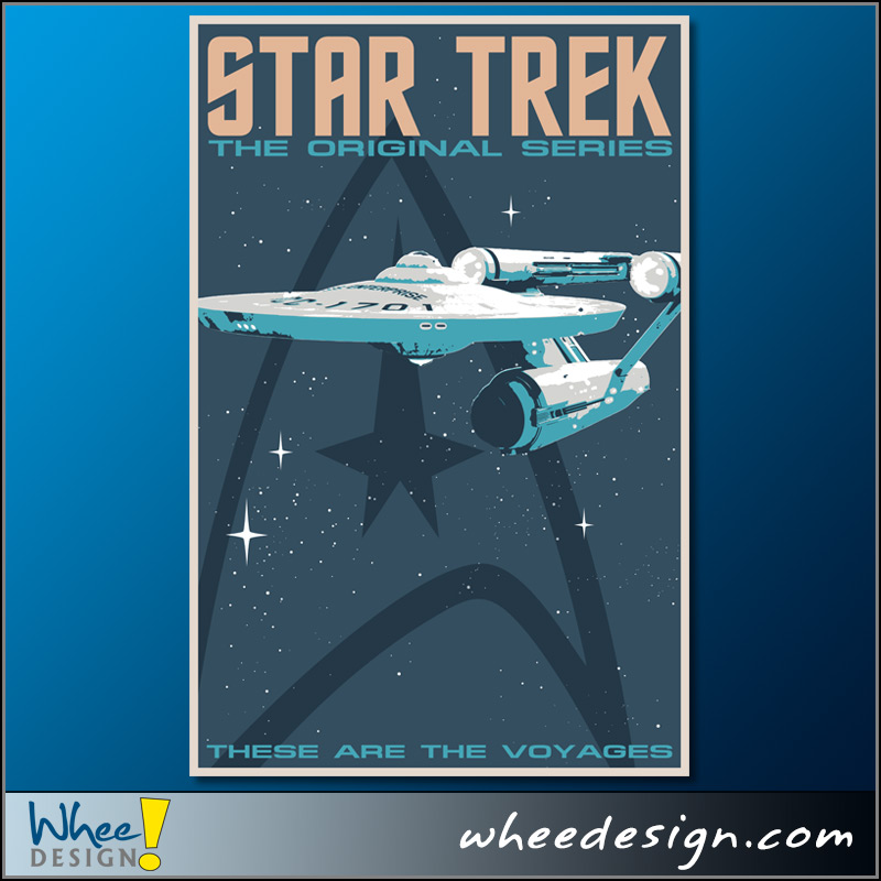 Star Trek Poster Designs
