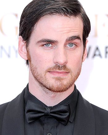 Sexy Colin O'Donoghue Eyebrow Action
