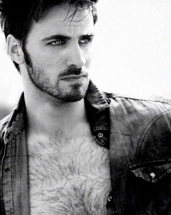 Sexy Colin O'Donoghue with Open Shirt