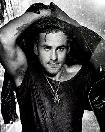 Colin O'Donoghue Getting Wet in the Rain