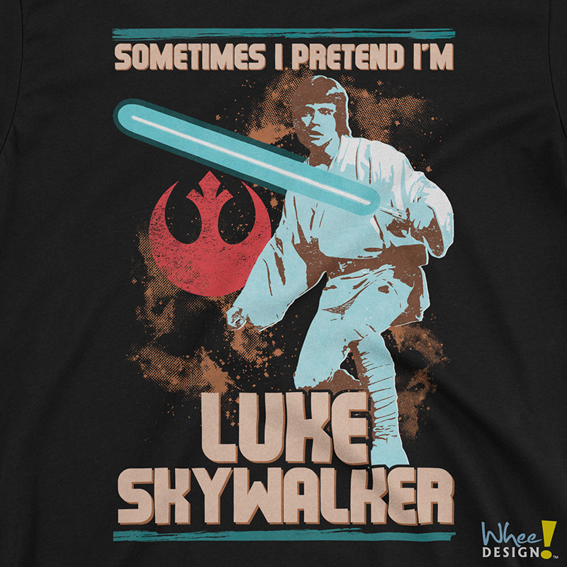 Sometimes I Pretend I'm Luke Skywalker