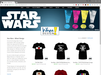 Star Wars - Whee! Design