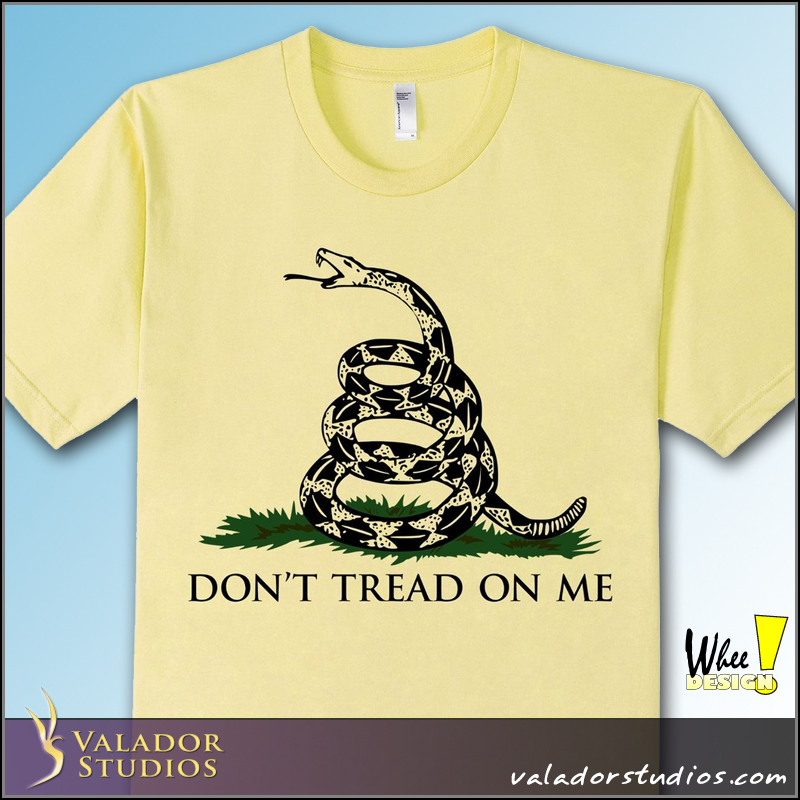 Don't Tread On Me Gadsden Flag T-Shirt
