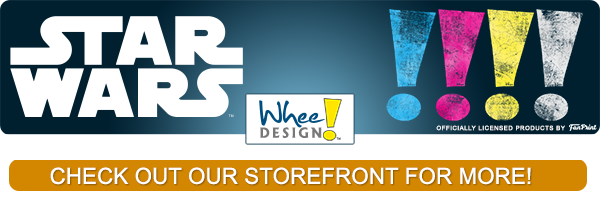 Visit our Storefront for more awesome Star Wars merchandise by Whee! Design and FanPrint.